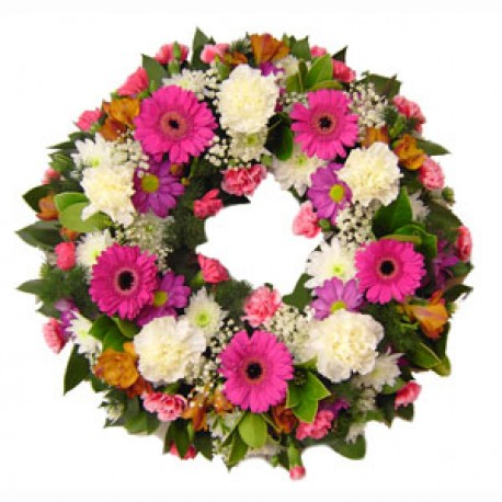 Gerbera Wreath